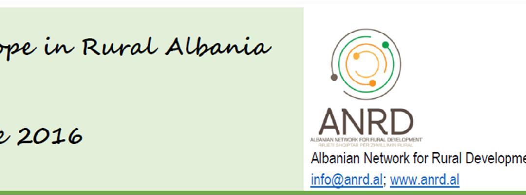Raport – Sfidat dhe mundësitë e Zhvillimit Rural në Shqipëri