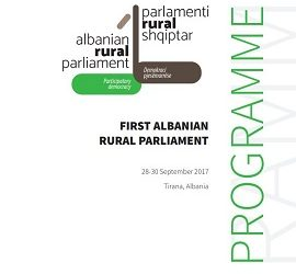 First Albanian Rural Parliament Booklet