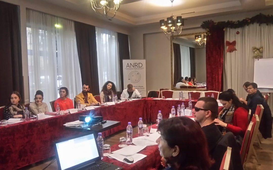 """Trajnimi kombëtar """"Qeverisje Transparente dhe e Përgjegjshme e OSHC-ve"""""""