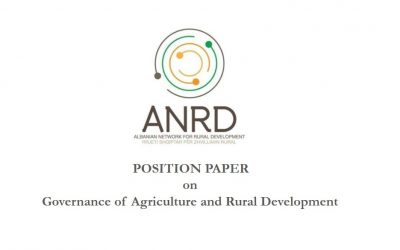 Position Paper on Governance of Agriculture and Rural Development