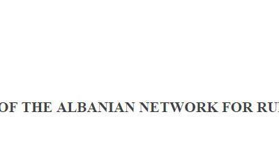 APPEAL of the Albanian Network for Rural Development