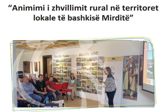 Animimi i zhvillimit rural në territoret lokale të bashkisë Mirditë