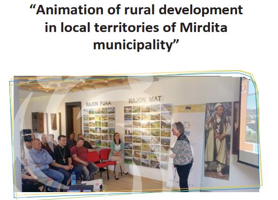 Animation of rural development in local territories of Mirdita municipality