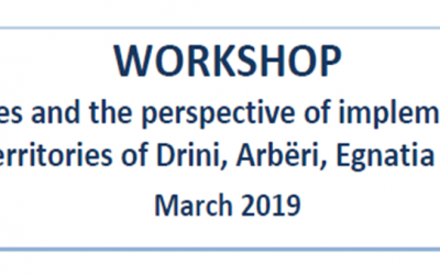 "WORKSHOP ""Existing initiatives and the perspective of implementing the LEADER approach in the territories of Drini, Arbëri, Egnatia and Vjosa Forums"""