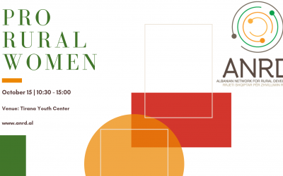 Upcoming event | PRO RURAL WOMEN | 15 October 2019