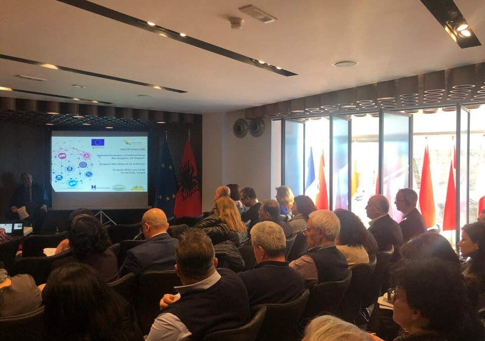 Progress and future challenges in aligning the European agenda of rural and agricultural development in Albania