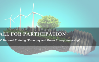 """Call for Participation – """"Economy and Green Entrepreneurship"""""""