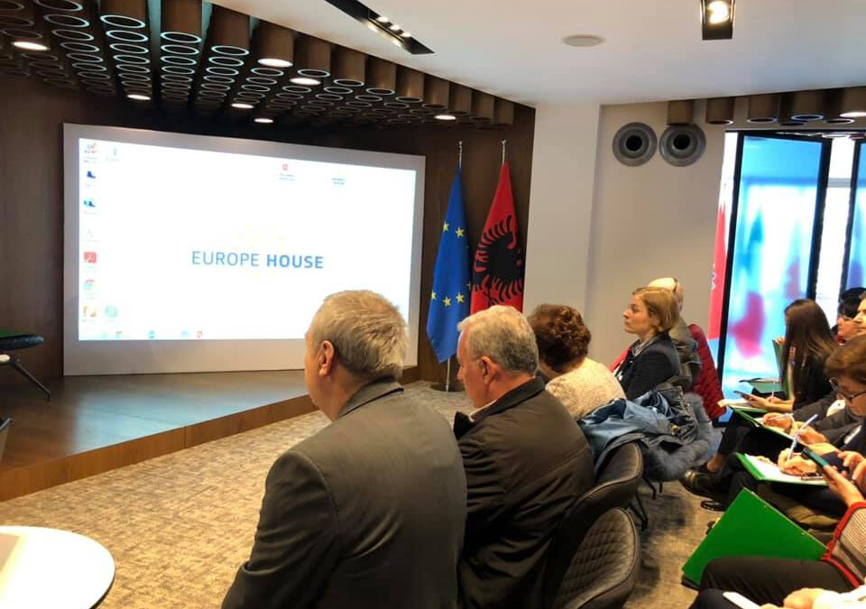 The Albanian Network for Rural Development (ANRD) takes part in the consultative meeting on the new IPARD Program measures