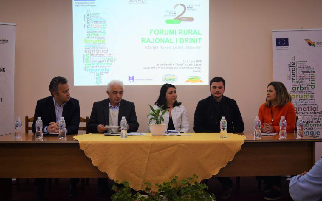 Regional Rural Forum of Drin | March 2020