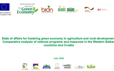 """Invitation to public debate on  """"Identification of challenges and opportunities related to the process of approximation of legislation on green economy """""""