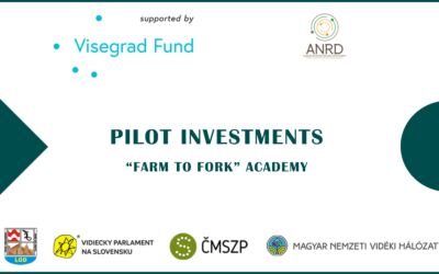 Farm to Fork Academy – Announcement of Pilot Investment Winners