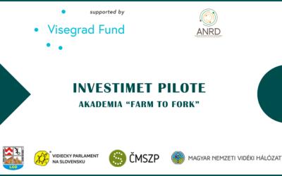"""Shpallja e fituesve të Investimeve Pilote: AKADEMIA """"FARM TO FORK"""""""