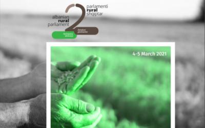 Proceedings Report. 2nd Albanian Rural Parliament 2021: European Perspective of Rural Albania