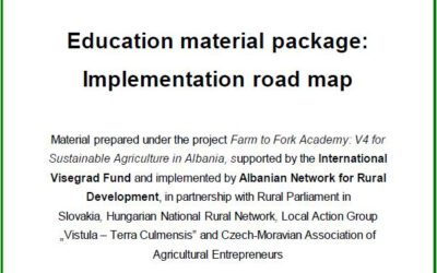 Education material package: Implementation road map