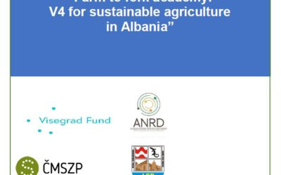 """Evaluation and lessons learnt  from the implementation  of the project  """"Farm to fork academy:  V4 for sustainable agriculture  in Albania"""""""